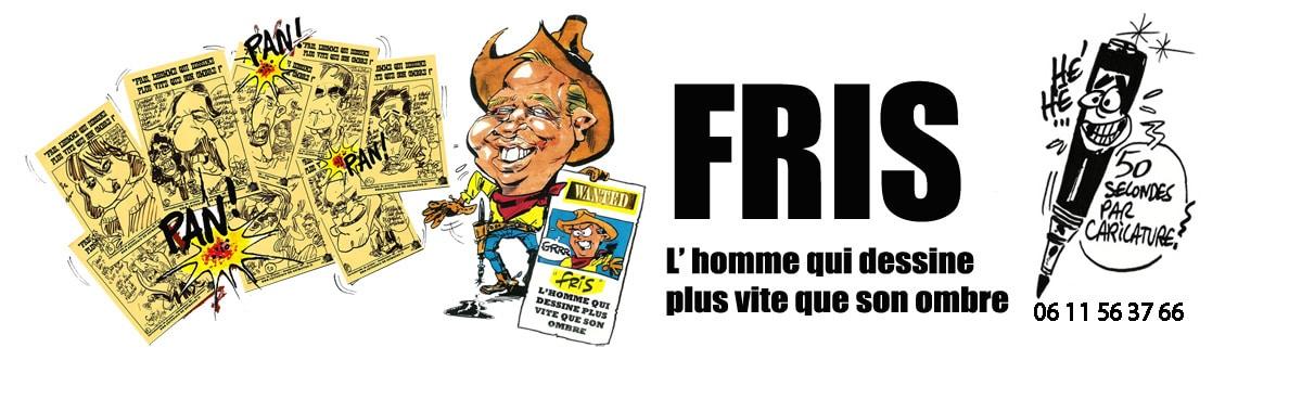 Fris, caricaturiste de presse, animateur BD, Nantes
